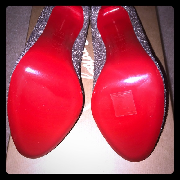 Christian Louboutin Shoes - Christian Louboutin Fifille 100 Glitter Givre